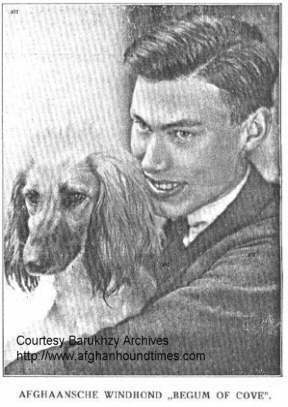 http://www.afghanhoundtimes.com PHOTO Han Jungeling and Begum Of Cove 1928